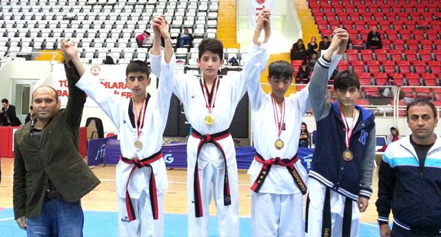 Taekwondocuların boşu yok