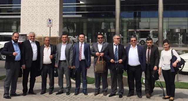 GTO üyeleri Dubai'de fuara katıldı