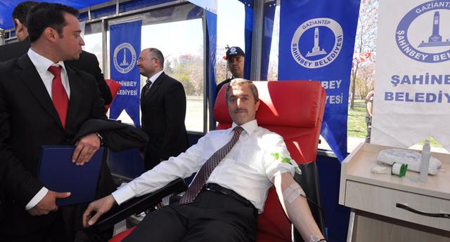 Bir hayat için kan verin
