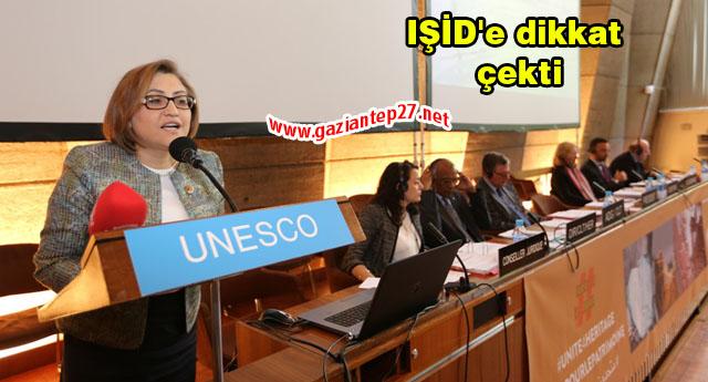 Unesco toplantısında Şahin farkı