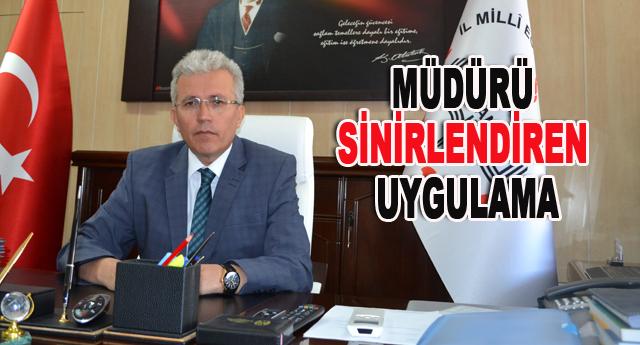 Mustafa Yanmaz, kayıt döneminde okul yöneticilerini uyardı