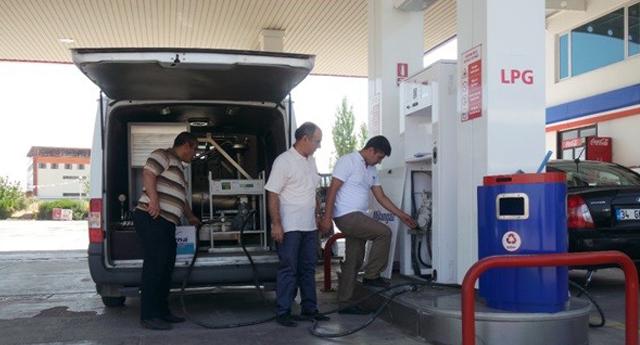 Petrol istasyonlarına 5 milyar TL ceza