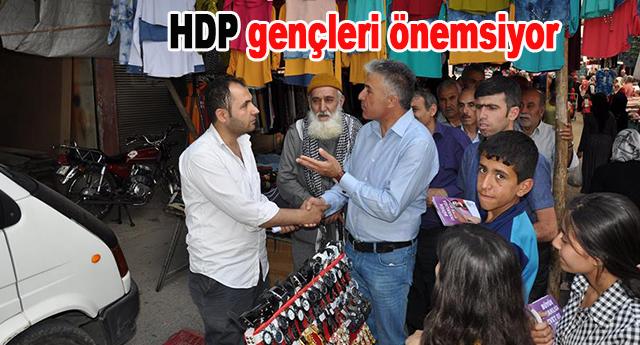 Osman Demirci, gençleri önemsediklerini ifade etti