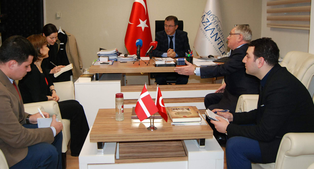 Büyükelçi Medsen Gaziantep'te