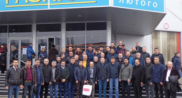 GTO,Kiev'e İş Gezisi Düzenledi