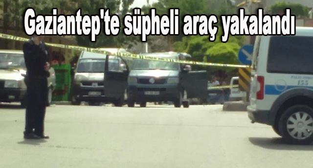 Aracın sürücüsü gözaltına alındı