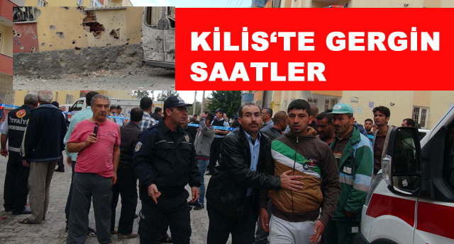 Kilis'e 3 roket atıldı: 1'i polis, 2 yaralı